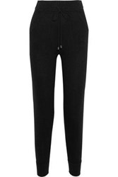 N.Peal Cashmere Track Pants Black