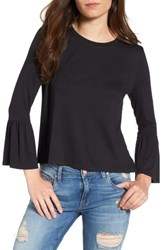 Women's Bp. Bell Sleeve Tee Black