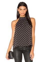 Three Eighty Two Jess Halter Tank Black