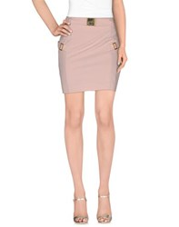 Divina Skirts Mini Skirts Women Light Pink