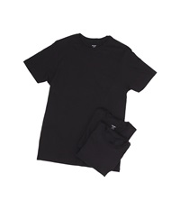 2Xist 3 Pack Essential Crew Neck T Shirt Black Men's Underwear