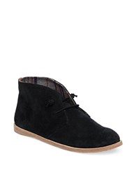 Lucky Brand Ashbee Suede Chukka Boots Black