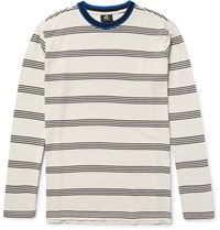 Paul Smith Ps By Slim Fit Striped Cotton T Shirt Neutral