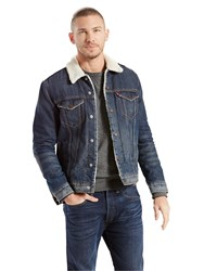 Levi's The Sherpa Denim Trucker Jacket Lucky Town