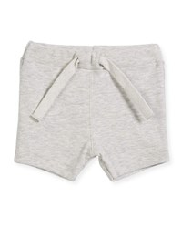 Petit Bateau Cotton Drawstring Sweat Shorts Size 6 36 Months Gray