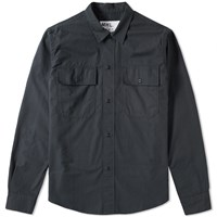 Mhl By Margaret Howell Mhl. Chore Overshirt Grey
