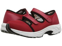 Drew Shoe Solo Red Sport Mesh Women's Hook And Loop Shoes