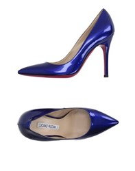 Luciano Padovan Footwear Courts Women Blue