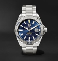 Tag Heuer Aquaracer Automatic 40.5Mm Steel Watch Blue