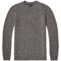 Barbour Netherby Crew Neck Knit Grey