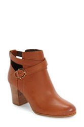 Cole Haan 'Bonnell' Buckle Strap Bootie Women Brown