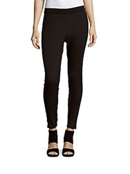 Hue Solid Fitted Leggings Black