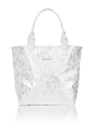 Seafolly Carried Away Sparkles And Spangles Tote Bag Silver