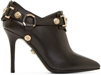 Versace Black Heeled Ankle Boots