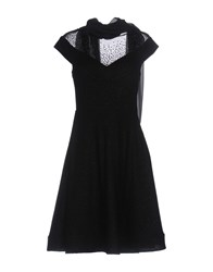 Musani Couture Short Dresses Black