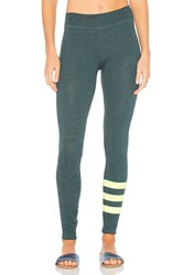 Sundry Stripes Yoga Pant Teal
