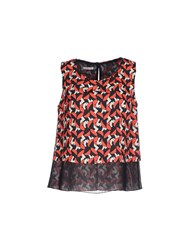 Hope Collection Topwear Tops Women Red