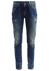 Pepe Jeans Idoler Relaxed Fit Jeans N60 Destroyed Denim