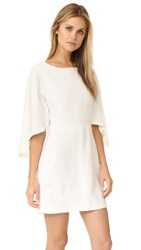 Cupcakes And Cashmere Jacey Cape Dress Ivory