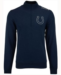 47 Brand '47 Men's Indianapolis Colts Forward Compete Quarter Zip Pullover Blue