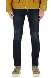 Topman Men's Ripped Stretch Slim Fit Jeans