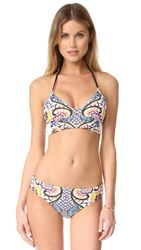 Ella Moss Summer Serenade Bikini Top Multi