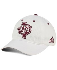 Adidas Texas A And M Aggies Slouch Cap White Maroon
