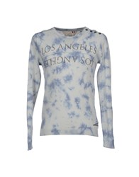 Japan Rags Knitwear Jumpers Men Pastel Blue