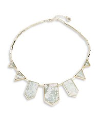 House Of Harlow Triangle Detailed Necklace Jade