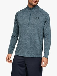 Under Armour Tech 2.0 1 2 Zip Long Sleeve Training Top Wire Black