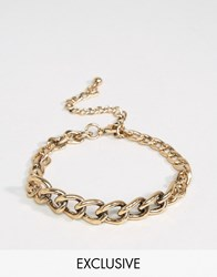 Designb London Chain Bracelet In Gold Gold