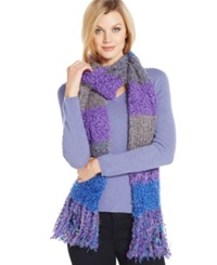 Charter Club Mixed Media Chenille Oblong Scarf Only At Macy's