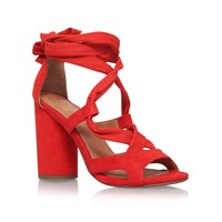 Kurt Geiger Mia High Heel Sandals Orange