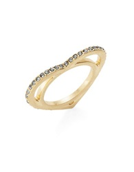 T And C Theodora And Callum Pave Heart Ring Gold