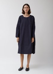 Casey Casey Pyj Rouch Dress In Navy