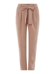 Label Lab Tie Front Trouser Pink