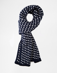 Selected Hobson Scarf Navy