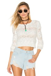 Lovers Friends Asher Sweater Ivory