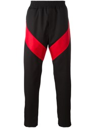 Givenchy Geometric Panel Trousers Black