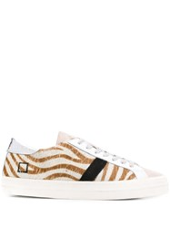 D.A.T.E. Striped Low Top Sneakers 60