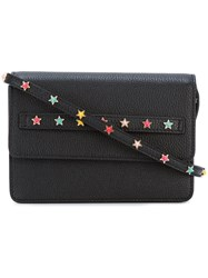 Red Valentino Star Embellished Bag Black