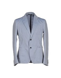Mario Matteo Mm By Mariomatteo Suits And Jackets Blazers Men Sky Blue