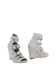 Surface To Air Footwear Ankle Boots Women Light Grey