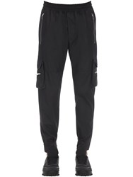 Represent Techno Military Pants Black