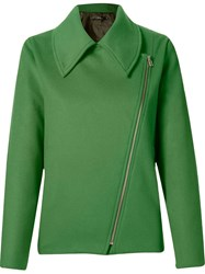 Andrea Marques Side Zip Fastening Jacket Green