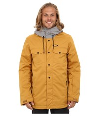 Oakley Division 2 Biozone Insulated Jacket Copper Canyon Men's Coat Yellow