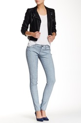 Rich And Skinny Coated Skinny Jean Gray