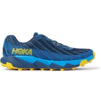 Hoka One One Torrent 1 Rubber Trimmed Mesh Trail Running Sneakers Storm Blue