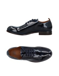 Moma Lace Up Shoes Dark Blue