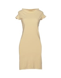 Ballantyne Short Dresses Beige